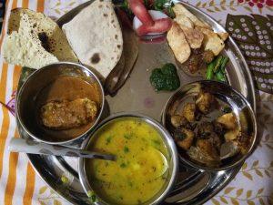 Best Rajasthani thaali vaialbale in udaipur