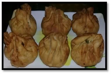 Special Potli Samosa homemade