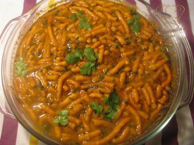 Fresh tasty sev tamatar