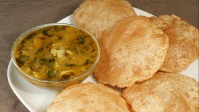 Crunchy Aloo Puri fresh