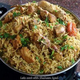 Chicken Pulaav homemade delicious in taste