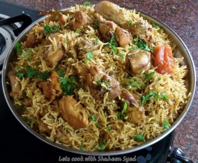 Chicken Pulaav homemade delicious in taste